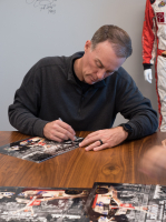 Kevin Harvick Signed NASCAR #29 18x24 Sam Bass Print (PA COA) (See Description) at PristineAuction.com