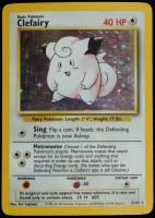 Clefairy 1999 Pokemon Base #5 HOLO at PristineAuction.com