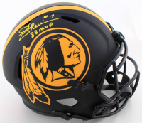 "Joe Theismann Signed Washington Full-Size Eclipse Alternate Speed Helmet Inscribed ""83 MVP"" (JSA COA) at PristineAuction.com"