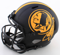 "Joe Theismann Signed Washington Full-Size Eclipse Alternate Speed Helmet Inscribed ""83 MVP"" (JSA COA) at PristineAuction.com"