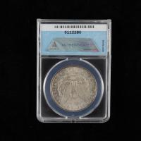 1902-O Morgan Silver Dollar, VAM-28 (ANACS MS63) (Toned) at PristineAuction.com