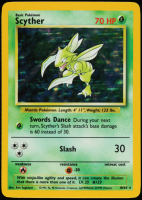 Scyther 1999 Pokemon #10 HOLO at PristineAuction.com