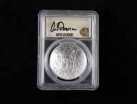 2020-P Basketball Hall of Fame Silver Dollar - First Day of Issue, Artis Gilmore Signed Label (PCGS MS70) at PristineAuction.com