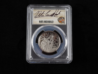 2020-S Basketball Hall of Fame Half Dollar, Clad - First Day of Issue, Nate Archibald Signed Label (PCGS PR70 DCAM) at PristineAuction.com