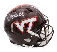 Bruce Smith Signed Virginia Tech Hokies Full-Size Authentic On-Field Speed Helmet (Radtke COA) at PristineAuction.com