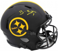 Ben Roethlisberger Signed Steelers Full-Size Authentic On-Field Eclipse Alternate Speed Helmet (Fanatics Hologram) at PristineAuction.com