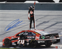 Christopher Bell Signed NASCAR 2021 Daytona Road Course Win Exclusive 11x14 Photo (PA COA) at PristineAuction.com