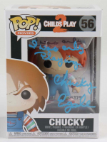 """Ed Gale Signed """"Child's Play 2"""" #56 Chucky Funko Pop! Vinyl Figure Inscribed """"Chucky"""" & """"I Was Only Playing"""" (ACOA COA) at PristineAuction.com"""