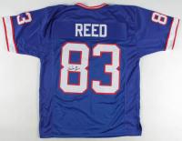 "Andre Reed Signed Jersey Inscribed ""HOF 14"" (JSA COA) at PristineAuction.com"