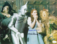 """The Wizard of Oz"" 11.5x14.5 Photo Signed by (5) with Mickey Carroll, Jerry Maren, Karl Slover & Donna Stewart-Hardway (JSA COA) at PristineAuction.com"