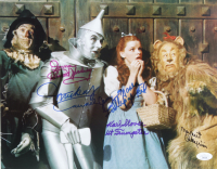 """The Wizard of Oz"" 11.5x14.5 Photo Signed by (5) with Mickey Carroll, Jerry Maren, Karl Slover, Ruth Duccini, Donna Stewart-Hardway (JSA COA) (See Description) at PristineAuction.com"