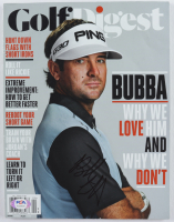 Bubba Watson Signed 2015 Golf Digest Magazine (PSA COA) at PristineAuction.com