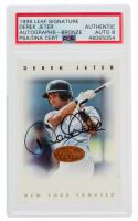 Derek Jeter 1996 Leaf Signature Autographs #118 SP (PSA Authentic) at PristineAuction.com