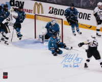 """Kris Letang Signed Penguins 16x20 Photo Inscribed """"2016 SC GWG"""" (YSMS COA) at PristineAuction.com"""