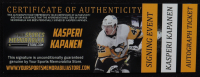 Kasperi Kapanen Signed Penguins 16x20 Photo (YSMS COA) at PristineAuction.com