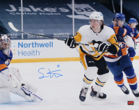 Sam Lafferty Signed Penguins 16x20 Photo (YSMS COA) at PristineAuction.com