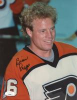 Brian Propp Signed Flyers 8x10 Photo (JSA COA) (See Description) at PristineAuction.com