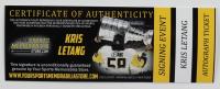 Kris Letang Signed Penguins Logo Hockey Puck (YSMS COA) at PristineAuction.com
