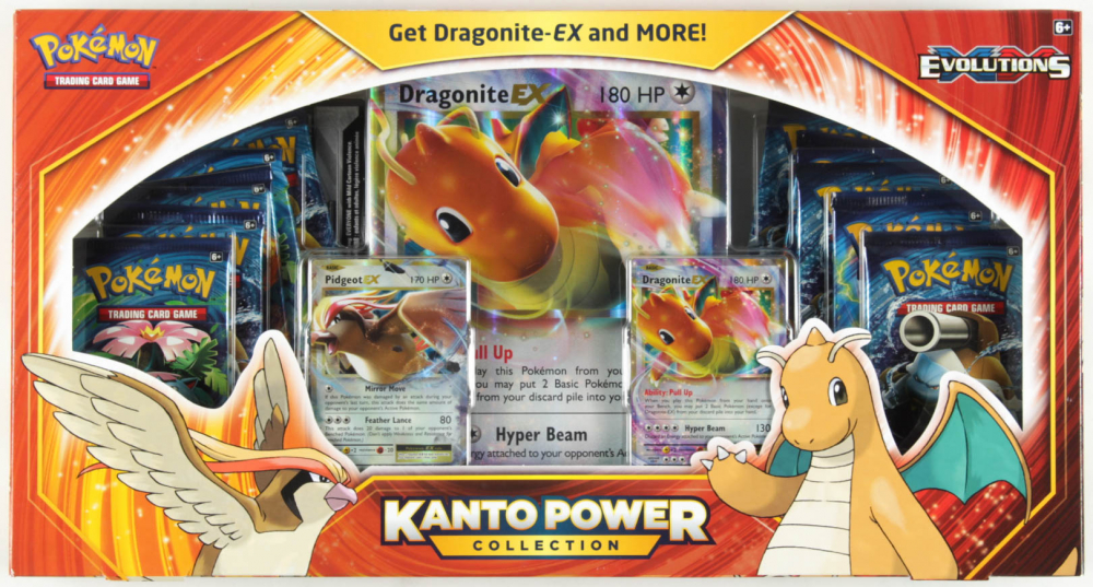 Pokemon TCG: Kanto Power Collection (Dragonite-EX) at PristineAuction.com