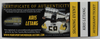 Kris Letang Signed Crystal Hockey Puck (YSMS COA) at PristineAuction.com