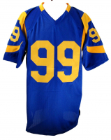 """Aaron Donald Signed Jersey Inscribed """"3x DPOY"""" (JSA COA) at PristineAuction.com"""