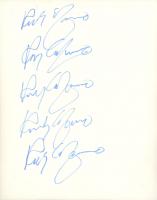 Rocky Graziano Signed 8x10 Photo (JSA COA) (See Description) at PristineAuction.com