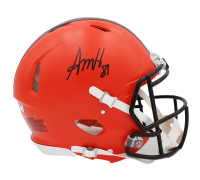 Austin Hooper Signed Browns Full-Size Authentic On-Field Speed Helmet (Radtke COA) at PristineAuction.com