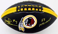 "Joe Theismann Signed Redskins Logo Football Inscribed ""83 NFL-MVP"" (JSA COA) at PristineAuction.com"
