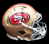 Jeff Garcia Signed 49ers Full-Size Authentic On-Field Speed Helmet (Radtke COA) at PristineAuction.com