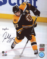 "Patrice Bergeron Signed Bruins 8x10 Photo Inscribed ""Captain"" (Bergeron Hologram & YSMS COA) at PristineAuction.com"