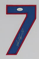Ivan Rodriguez Signed 35x43 Custom Framed Jersey Display (JSA COA) at PristineAuction.com