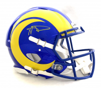 Aaron Donald Signed Rams Full-Size Authentic On-Field Speed Helmet (JSA Hologram) at PristineAuction.com