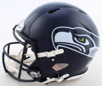 DK Metcalf Signed Seahawks Full-Size Authentic On-Field Speed Helmet (Beckett COA) at PristineAuction.com
