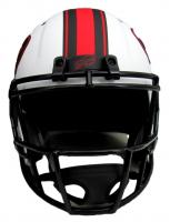 """Jim Kelly Signed Bills Full-Size Lunar Eclipse Alternate Speed Helmet Inscribed """"HOF 02"""" (JSA COA) at PristineAuction.com"""