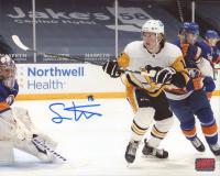 Sam Lafferty Signed Penguins 8x10 Photo (YSMS COA) at PristineAuction.com