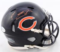 Eddie Jackson Signed Bears Speed Mini Helmet (Beckett COA) at PristineAuction.com