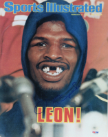 Leon Spinks Signed 11x14 Photo (PSA COA) at PristineAuction.com