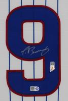 Javier Baez Signed 35x43 Custom Framed Jersey Display (MLB Hologram & Fanatics Hologram) at PristineAuction.com
