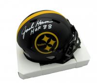 "Jack Ham Signed Steelers Eclipse Alternate Speed Mini Helmet Inscribed ""HOF 88"" (Beckett COA) at PristineAuction.com"