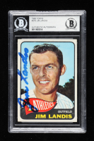 Jim Landis Signed 1965 Topps #376 (BGS Encapsulated) at PristineAuction.com