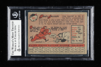 Randy Jackson Signed 1958 Topps #301 (BGS Encapsulated) at PristineAuction.com