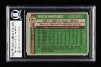 Willie Montanez Signed 1976 Topps #181 (BGS Encapsulated) at PristineAuction.com