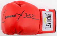 "Lennox Lewis Signed Everlast Boxing Glove Inscribed ""2021"" (JSA COA) at PristineAuction.com"