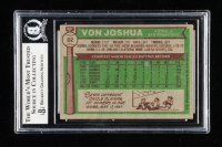 Von Joshua Signed 1976 Topps #82 (BGS Encapsulated) at PristineAuction.com