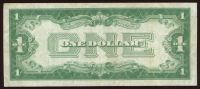 """1928 $1 One Dollar """"Funny Back"""" Silver Certificate Bank Note at PristineAuction.com"""
