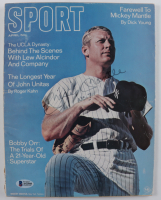"""Mickey Mantle Signed 1969 """"Sport"""" Magazine Inscribed """"No. 7"""" (Beckett LOA) (See Description) at PristineAuction.com"""