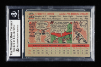 Stan Lopata Signed 1956 Topps #183 (BGS Encapsulated) at PristineAuction.com