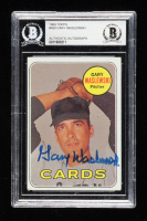 Gary Waslewski Signed 1969 Topps #438 RC (BGS Encapsulated) at PristineAuction.com