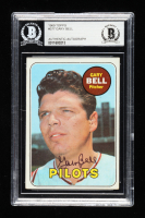 Gary Bell Signed 1969 Topps #377 (BGS Encapsulated) at PristineAuction.com