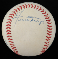 Mickey Mantle, Duke Snider, & Willie Mays Signed OAL Baseball (Beckett LOA) at PristineAuction.com